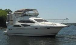 2006 Cruisers Yachts 385 Express Motoryacht Equipped with 420hp 8.1 Liter Twin Volvo Penta GXi Inboard motors Currently with 341 hours on them both! Standard features include.- - Kohler Genset - Fireboy Fire Suppression System - Dual Ducted Air