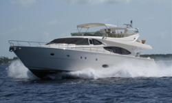 2005 76' Ferretti MotorYacht -- Pristine Condition & Loaded with Upgrades****This Fully Loaded Ferretti has an Incredible amount of space on board with 4 large Staterooms + Crew Quarters along with 4 Heads****HUGE PRICE REDUCTION !!! TWO BRAND NEW