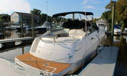 CERTIFIED USED BOAT **SALE PENDING** Fresh Water Boat Low Hours Bimini Top Cockpit Cover Generator New Garmin GPS/Chart Plotter/Fish Finder/Depth Indicator VHF Radio Compass Remote Controlled Spotlight Upgraded Clarion and Kicker Marine Stereo System w/