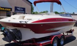 2005 Glastron GX255 2005 GLASTRON GX255 25' BOW RIDER PACKAGED WITH A VOLVO PENTA 5.0 GXI, 270HP ENGINE! Beam: 8 ft. 4 in. Hull color: Burgundy Red Stock number: Used102