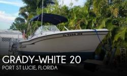 Actual Location: Port St Lucie, FL - Stock #100768 - ** Excellent Condition ** Comfortable Riding & Versatile in Bay & OffshoreThis boat is a 2004 with a Yamaha 150 hp 4 stroke 2005. All engine maintenance just finished for 2016. This is a very clean and