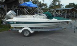 FEATURING THE 90 HONDA FOUR STROKE, SKI TOW BAR, TRAILER, ALL COVERS, ALL INSPECTIONS DONE, SOME GUAGES, OUR WARRANTY INCLUDED, HIDEOUT CERTIFIED