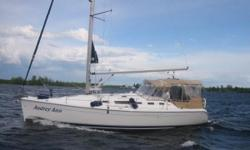 "Hands-down the most well-maintained and preserved 38' Hunter on the market. ""Audrey Ann"" looks as though she just sailed away from the boat show. Her loving owners have maintained her to standards far superior to the average sailors', and everything"