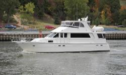 """This stately, classic styled motor yacht """"Pampered"""" is appropriately named by her present owner who has lovingly spared no expense pampering her. She has been impeccably maintained and has had numerous upgrades and updates since 2011 when it was purchased"""