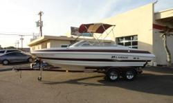 2005 Larson LXi 228 Payments as low as $175 / mo. * Leave the world behind, but dont forget the luxury. Sleek and spacious, the 228 offers power options up to 300 horsepower so it also looks great on the fly. The luxurious interior surrounds you with a