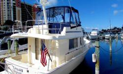 Just Reduced to $154,900 This '05 Single Engine Mainship is Ready to Loop or Cruise with all the comforts of home. She has been very well cared for with records to prove it. Please review this vessel on our website for all the details. Dual AC