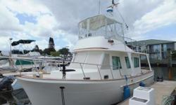 """Anyone considering a Grand Banks Europa or similar models should really take a close look at this Mariner. She has quality of build, fit and finish, spaciousness and at a excellent price point. """"Traveller"""" is an absolutely stunning example of"""