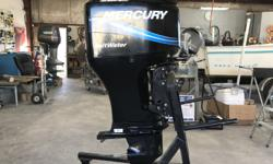 For sale is a 2005 Mercury 90 HP Outboard motor. This motor has been very well taken care of and has not had many hours out on it. The reason for selling this motor is the customer wanted to upgrade to a new Fuel-Injected 90 HP motor. The motor has