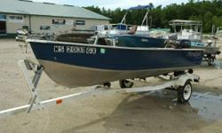 2005 14' Mirrocraft with Trailer This boat is in Excellent condition and comes with a 15 HP Evinrude and Trailer. This is a Great boat at a Great Price !!! Engine(s): Fuel Type: Gas Engine Type: Other Hours: 200 Stock number: WS2031GX