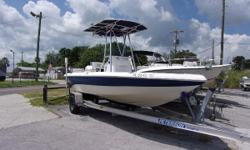 THIS PACKAGE INCLUDES A 2006 NAUTIC STAR 1900 BAY WITH A JOHNSON 115HP ENGINE AND AN ALUMINUM TRAILER. THE OPTIONS INCLUDE A  FLIP-FLOP COOLER SEAT, 2 REAR FLIP UP SEATS, REAR AND CONSOLE LIVEWELL, LOCKABLE ROD LOCKER, SPARE TIRE, STAINLESS STEEL