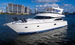 Crazy Lucky is a good value and well maintained 2005 62' Neptunus Flybridge. : 3 Staterooms x 3 Heads New Enclosure Decemeber 2016 Brand NEW Garmin 7215 at upper and lower helm Brand NEW Garmin GMR 404 HD Radar Brand NEW KVH TracVision