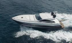 Upon inspection of VELOCITY you'll find she exudes the qualities of a new yacht. The owner, her only owner, has spared not a penny in keeping her cosmetics and mechanics in top condition. Most of her life has been spent under cover. From her