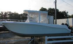 2005 30 Pro Sport 3000 Center ConsoleBluewater with twin 250hp Suzukis Custom Hull and Engine Paint Job Full four sided enclosure Nominal Length: 30'