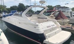 This Regal 3560 feels like a bigger boat than most 35-footers. With low hours, new cockpit seamat, and new bow cushions, this boat is ready to go out on the water when you are. Call today. Trades considered. Engine(s): Fuel Type: Gas Engine Type: Inboard