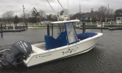 2005 Regulator 24CC powered by twin 2005 Yamaha F150's with 700 hours on them. More information and photos to come. In the water and ready to go!
