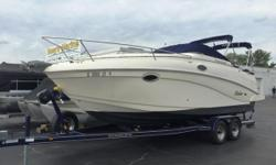 Location: Bolingbrook, IL, US Recently reduced $3K. This boat is equipped with a custom 2015 Trailmaster trailer, camper enclosure, front, sides and aftcurtains, cockpit cover, air/heat, am/fm sony cd player, digital depth finder, battery charger,