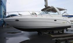 This 2005 Rinker 320 Fiesta Vee powered with twin Volvo 5.0 270 HP motors with only 225 hours!  This dry stored fabulous cruiser from Rinker has tons of options to enhance your experience whether it be overnighting or entertaining family and friends