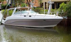 Outstanding Condition & Documented Service History Numerous Upgrades Nominal Length: 34' Length Overall: 34' Drive Up: 2.9' Engine(s): Fuel Type: Other Engine Type: Stern Drive - I/O Draft: 2 ft. 11 in. Beam: 12 ft. 0 in. Fuel tank capacity: 230 Water