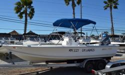 2005 - Sea-Pro Boats - SV2100 CC, 150HP Yamaha, Ipilot 24v Trolling motor, 8' Power Pole, Garmin EcoMap GPS Fish Finder, Trailer. $13,900.00 727-862-0776 Antonietti Marine Beam: 8 ft. 6 in.