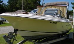 Here is a nice 18' dual console that will be perfect for entertaining friends and family, fishing, and just plain fun on the water. She has been well kept up over the years. Seller has been wanting a catamaran and now has found one so he has decided to