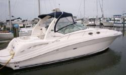2005 SEA RAY 340 Sundancer, Just Reduced & in Excellent Condition, 315 hours onTwin, Mercruiser,8.1 L,Fresh water cooled Electronics: , Radar, Depthfinder, GPS Chartplotter, Sounder, VHF, Stereo, Compass Other:, Bimini Top,