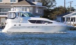 This 2005 Sea Ray 390 Motor Yacht is in great shape and the pictures will show it. She has been well maintained and lightly used.  Great Liveaboard. Features: Cummins Common Rail Diesel Engines - 480CE - 446 HP w/ 335 hrs. Dual E-120 Raymarine