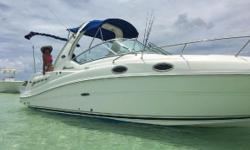 2005 Sundance Sundancer Length 27FT Anchor Depth Stove Sink Shower TV DVD VCR Boat cover Salt water Unit is located in Miami FL. Financing Nationwide Shipping and Warranties available to qualified buyers. Stock Number: B169917T Beam: 8 ft. 6 in. Hull