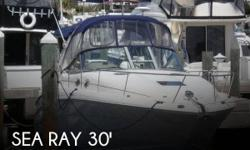 Actual Location: Fort Lauderdale, FL - Stock #106433 - If you are in the market for a cruiser, look no further than this 2005 Sea Ray 300 Sundancer, just reduced to $47,500 (offers encouraged).This vessel is located in Fort Lauderdale, Florida and is in