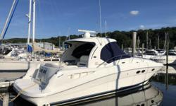 2005 39' Sea Ray Sundancer -- 'LAST ONE' is a Well Maintained White Hull Yacht in Excellent Condition Inside & OutLoaded with Upgrades: Garmin 5212 Chartplotter, New Mercury SmartCraft VesselView, Bluetooth Stereo System + Much More!!Powered with Twin