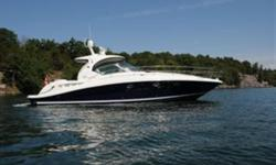 2005 42' Sea Ray Sundancer -- FRESH WATER SINCE NEW -- Mint Condition Inside & OutLoaded with Upgrades: Hydraulic Swim Platform, Bow Thruster, Satellite TV, Upgraded Electronics + MUCH MORE!! ****One of the few Fresh Water 42 Sundancers Available in the