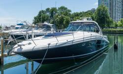 *****PRICE REDUCED -- ONLY 100% FRESH WATER DIESEL 42/44 SUNDANCER ON THE MARKET -- FRESH PHOTOS UPDATED JUNE 25, 2018*****FRESH WATER 2005 42' Sea Ray Sundancer -- Blue Hull Vessel in Excellent ConditionLoaded with Upgrades: Bow Thruster, Cockpit A/C &