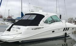 PRICE REDUCED MAY 2018 -- OWNER SAYS SELL2005 48' Sea Ray Sundancer -- Pristine White Hull Vessel Powered w/ Twin Cummins QSC-540 DieselsLoaded With Upgrades: Electric Tender Lift, Bow Thruster, Satellite TV, Teak Flooring in Cockpit + Helm Area, Cockpit