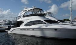 2005 50' Sea Ray Sedan Bridge -- Turn Key Vessel in Excellent ConditionLoaded with Upgrades: Hydraulic Swim Platform, New Bow Thruster, Bridge A/C & Heat, Satellite TV + Much More!!***$25,000 Price Reduction -- Low Hours on Twin Cummins QSM-11 Diesels --