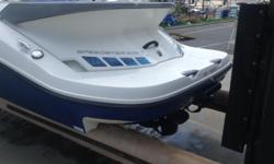 Fun boat with twin engines! includes trailer Beam: 8 ft. 0 in.