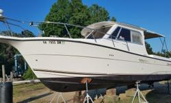 This fully loaded, well maintained boat is ready to go. The current owner has been very active in the Coast Guard Auxiliary and has her decked out. Chartplotter, GPS, autopilot, VHF, stove, frig, AC, head, etc she has it all. Powered by a Yanmar 6LPA-STE