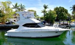 Vessel is meticulously maintained by the owner. Cushions and electronics are fairly new and the isinglass was replaced recently, four months ago and is crystal clear. Last years service includes new impellers, an oil change and new bottom paint. Vessel is