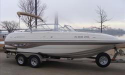 Very clean ride. The previous owner was very particular. Has done several updates in last few years. This is one boat you will not be disappointed in when you drive several hours to check out. Thanks, John Archer 1 800 357 7096 Engine(s): Fuel Type: Gas