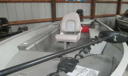 Super Loaded Super nice 1600 Sylvan sport troller with 40 efi elpt engine, trolling motor, locater, 3 seats, custom roller trailer. Experience fishing in it's purest form. For those who favor a no-frills approach to fishing we offer several different
