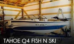 Actual Location: Mount Pleasant, NC - Stock #075681 - If you are in the market for a bowrider, look no further than this 2005 Tahoe Q4 Fish N Ski, just reduced to $15,000 (offers encouraged).This boat is located in Mount Pleasant, North Carolina and is in