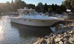 One of Tiara's powerhouses of pleasure boating, this very well maintained, low hour boat will give you many years of boating fun. Features include: Volvo Penta D6-310 Hp, Hardtop (rare), All new electronics in 2018, Cockpit Air & Heat, and much more. This