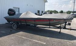 Pro Team 185?the top of the line in the Pro Team family?is the roomiest and best-designed Mod V bass fishing layout available anywhere. Generous three-across seating, two seven-foot rod lockers for gear and an oversized bow casting deck. The exclusive