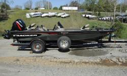This 2005 Tracker tournament V-18 is equipped with everything you need for a great time out on the water. Nominal Length: 18' Length Overall: 18' Beam: 1 ft. 0 in.