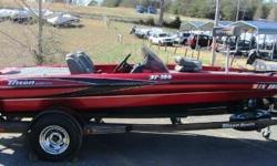 Great opportunity to get into a pre owned bass boat in excellent condition. This 2005 TR-186 will allow you to be one of the fastest boats on the water in an 18ft hull. Powered by a Mercury 150 Optimax. Equipped with a Minn Kota Fortrex trolling motor