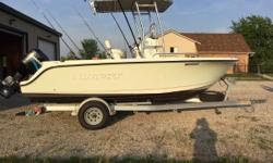 GREAT OPPORTUNITY ON THIS 2005 TROPHY 1903 CENTER CONSOLE -- PLEASE SEE FULL SPECS FOR COMPLETE LISTING DETAILS. Freshwater / Great Lakes boat since new this vessel features a Single Mercury 115-hp 2-Stroke Motor with 400 original hours.  Notable