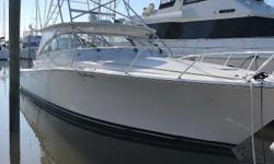 Preliminary Listing: More Photos and Specs to Follow! This 2005 Viking Express features Common Rail V-8s with 1,150 hours (1,000-hour service completedat a cost of $21,000).She has an air conditioned helm deck with hardtop, electric