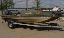 Jon / Bass boat. Prior owner extended the front deck, added built in fuel tanks, large livewell, 70 lb troller and a 596 huminbird. Nice wide boat at 70in on the bottom. Thanks, John Archer 1 800 357 7096 Engine(s): Fuel Type: Gas Engine Type: Other
