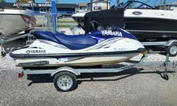 2005 Yamaha FX with 198 hours, Trailer, New seat skin. $3,900.00 727-862-0776 Antonietti Marine Beam: 4 ft. 5 in.