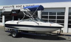 PRICE JUST REDUCED TO $12,500!! MerCruiser 5.0L engine, no hour meter MerCruiser Alpha One sterndrive EZ Loader 2-axle trailer w/surge brakes, swivel tongue & custom rims (1) Battery Full storage cover Tilt steering wheel Removable cockpit carpet