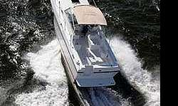 This 2006 Albin 26 TE is a dealer leftover and is located in Greenwich CT. Just like her big sister the Albin 28 TE, she is powered by a single engine diesel, in this case a Cummins, but with a Mercruiser sterndrive. And she is trailerable. Very Unique