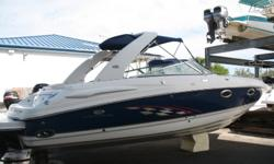 This 2006 Chaparral 285 SSi is an immaculate vessel that has been babied by the owner. It is a one owner boat and is stored indoors. This boat has all of the options including captains choice exhaust. Recent work has been done including riser, manifolds